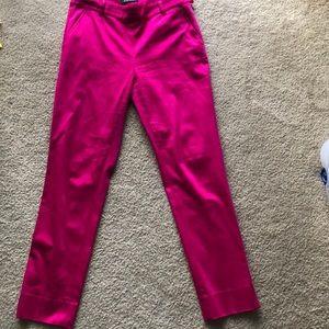 Fuchsia boot cut pants
